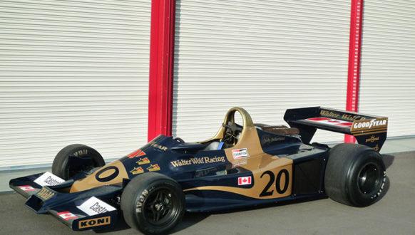 WALTER WOLF RACING F1 -1977- 展示場所:元町4丁目